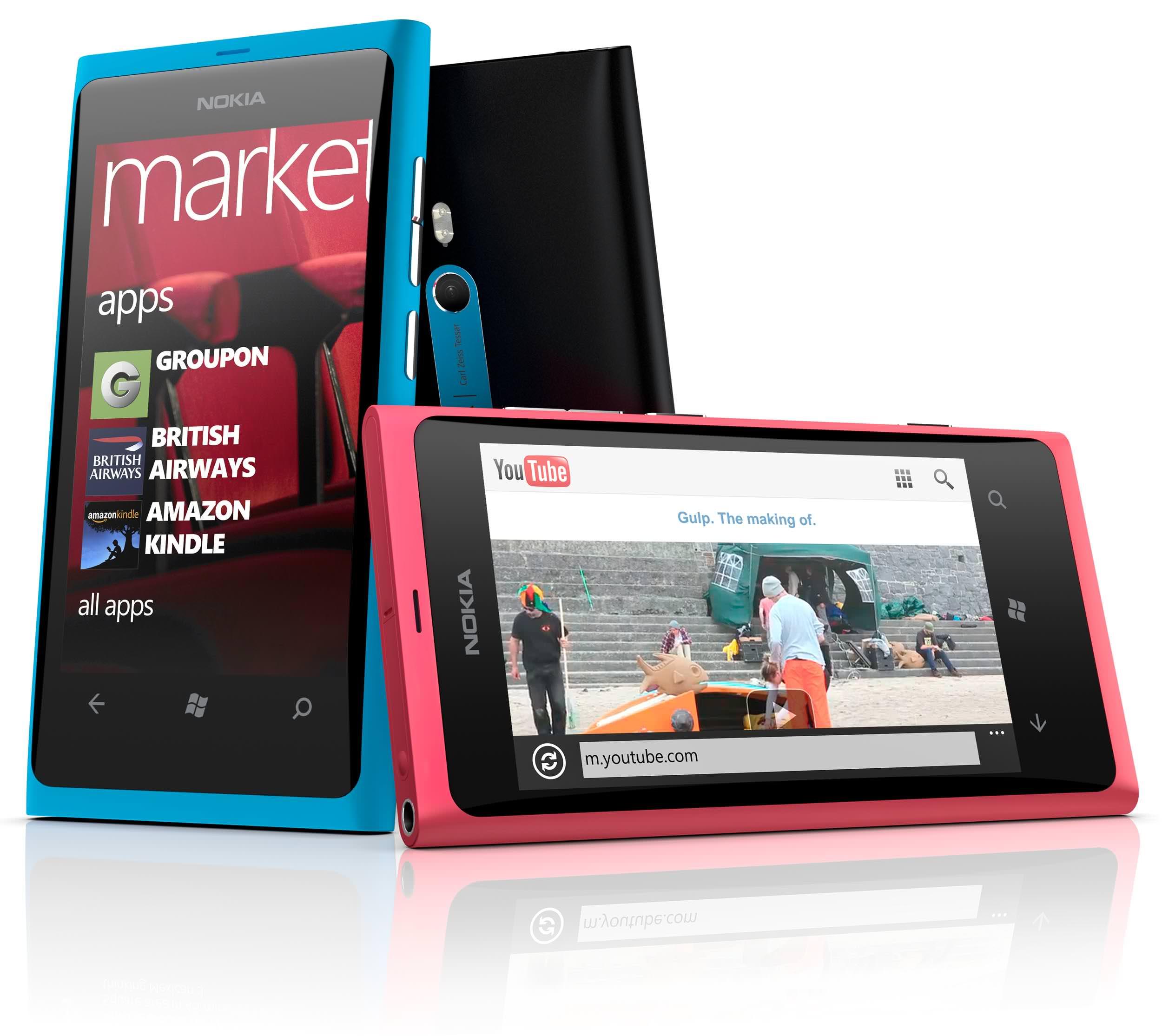 Nokia Lumia 80: Gruppen