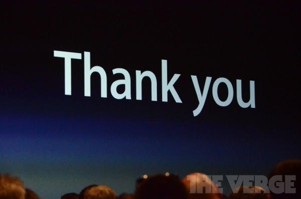WWDC 2012: Apple bedankt sich bei den Entwicklern