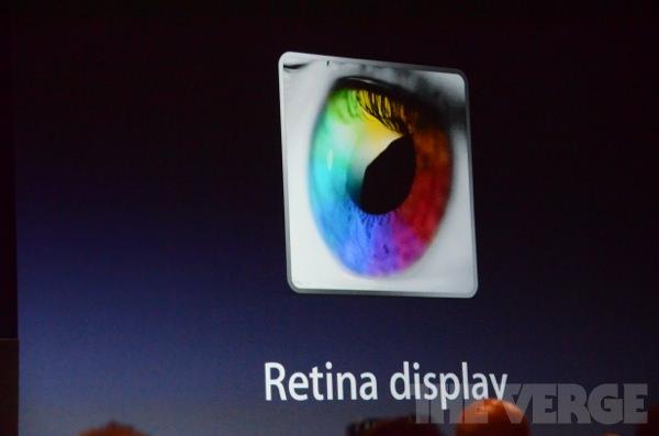 Das neue Mac Book Pro bekommt ein Retina Display