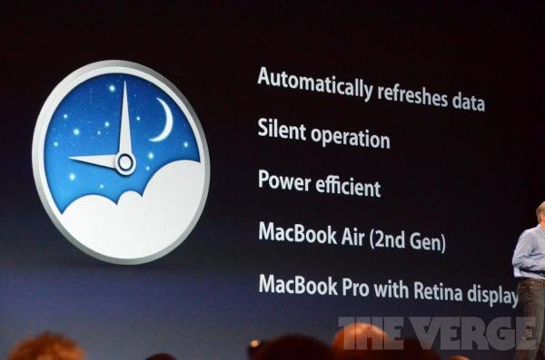 OS X Mountain Lion: Power Nap