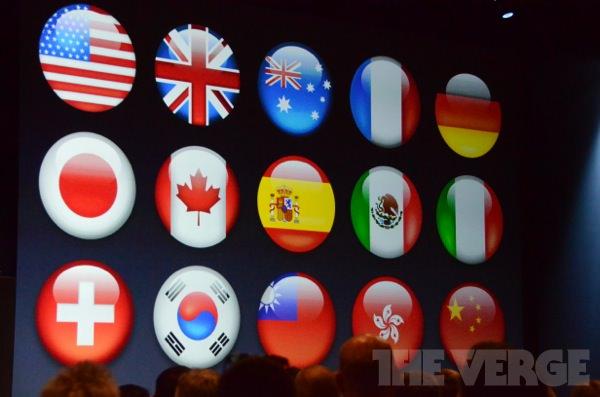 iOS 6: neue Sprachen für Siri
