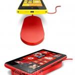 So soll das kabellose Aufladen des Lumia 920 aussehen