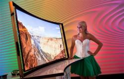 Der erste gekrümmte OLED-Fernseher der Welt